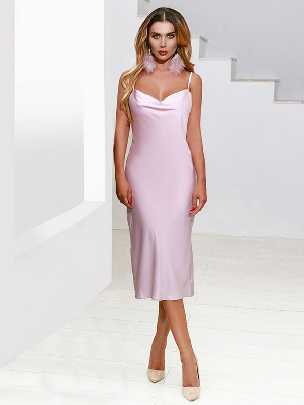 Платье розовое | 5258851