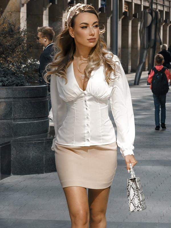 Блуза белая | 5258874