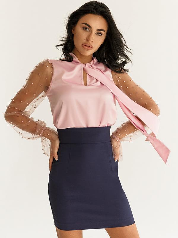 Блуза розовая   5258886