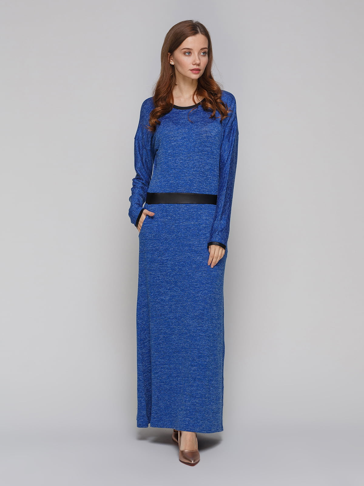 Платье синее | 5266087