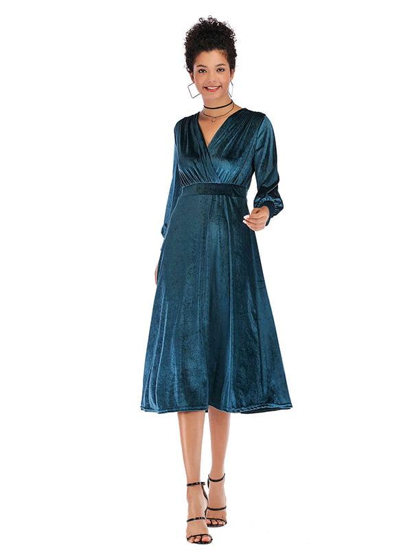 Платье бирюзовое   5268042