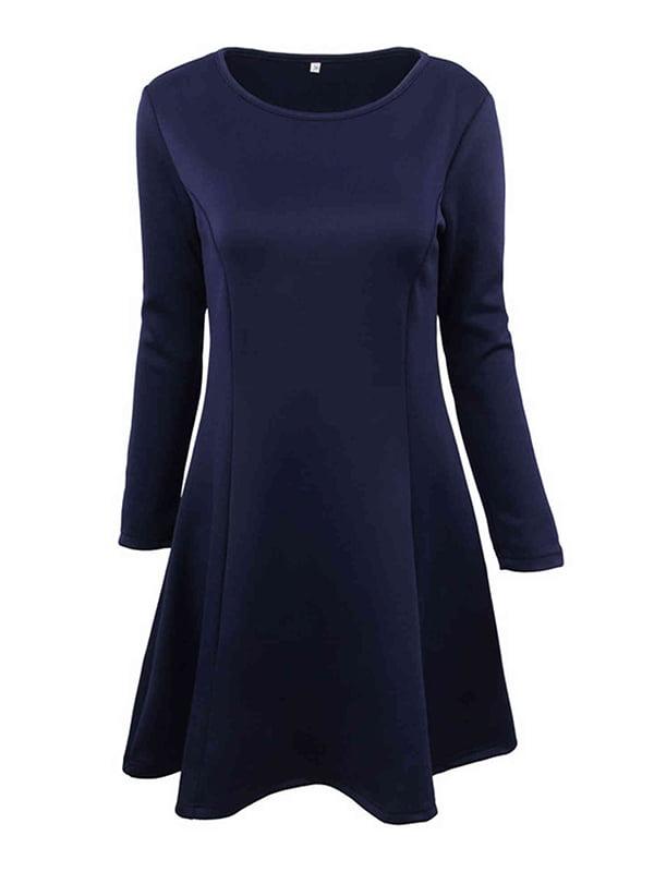 Платье темно-синее | 5268048