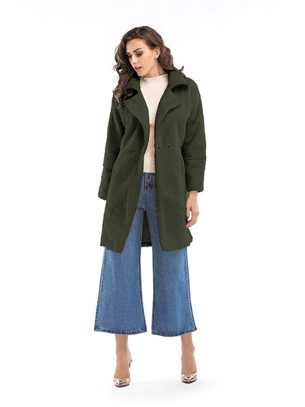Пальто темно-зеленое | 5268062
