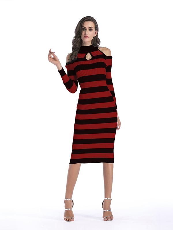 Платье красно-черное   5268068