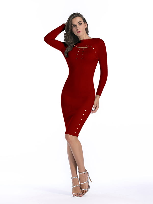 Платье красное | 5268069