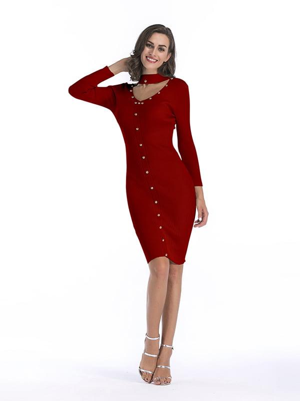 Платье красное | 5268079