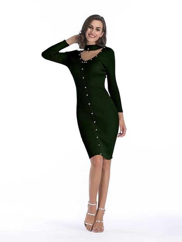 Платье зеленое | 5268080