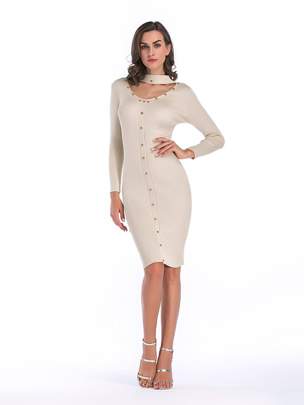 Платье молочное | 5268082