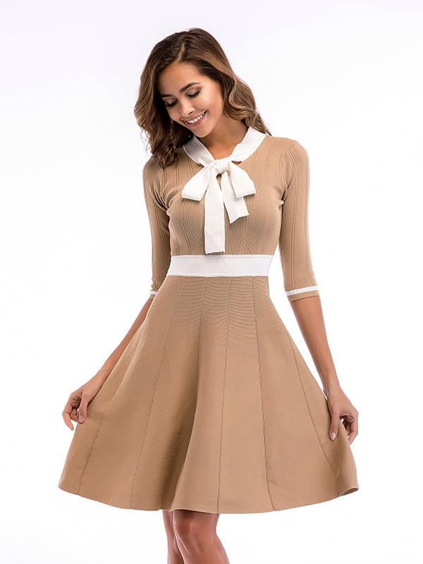 Платье коричневое | 5268089