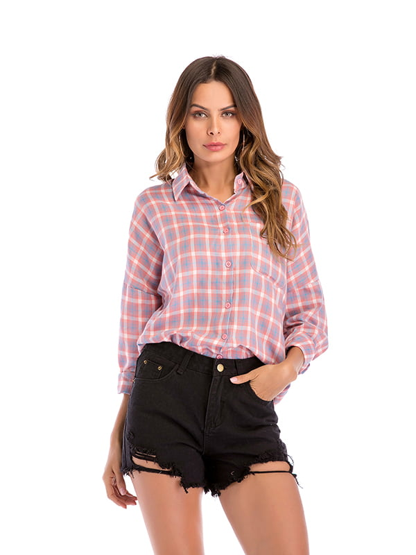 Рубашка розовая | 5268182