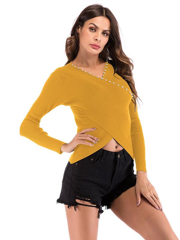 Свитер желтый | 5268210