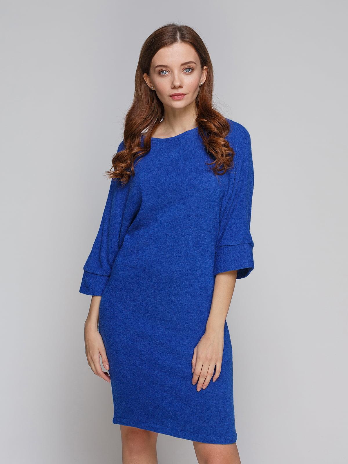 Платье синее | 5266072