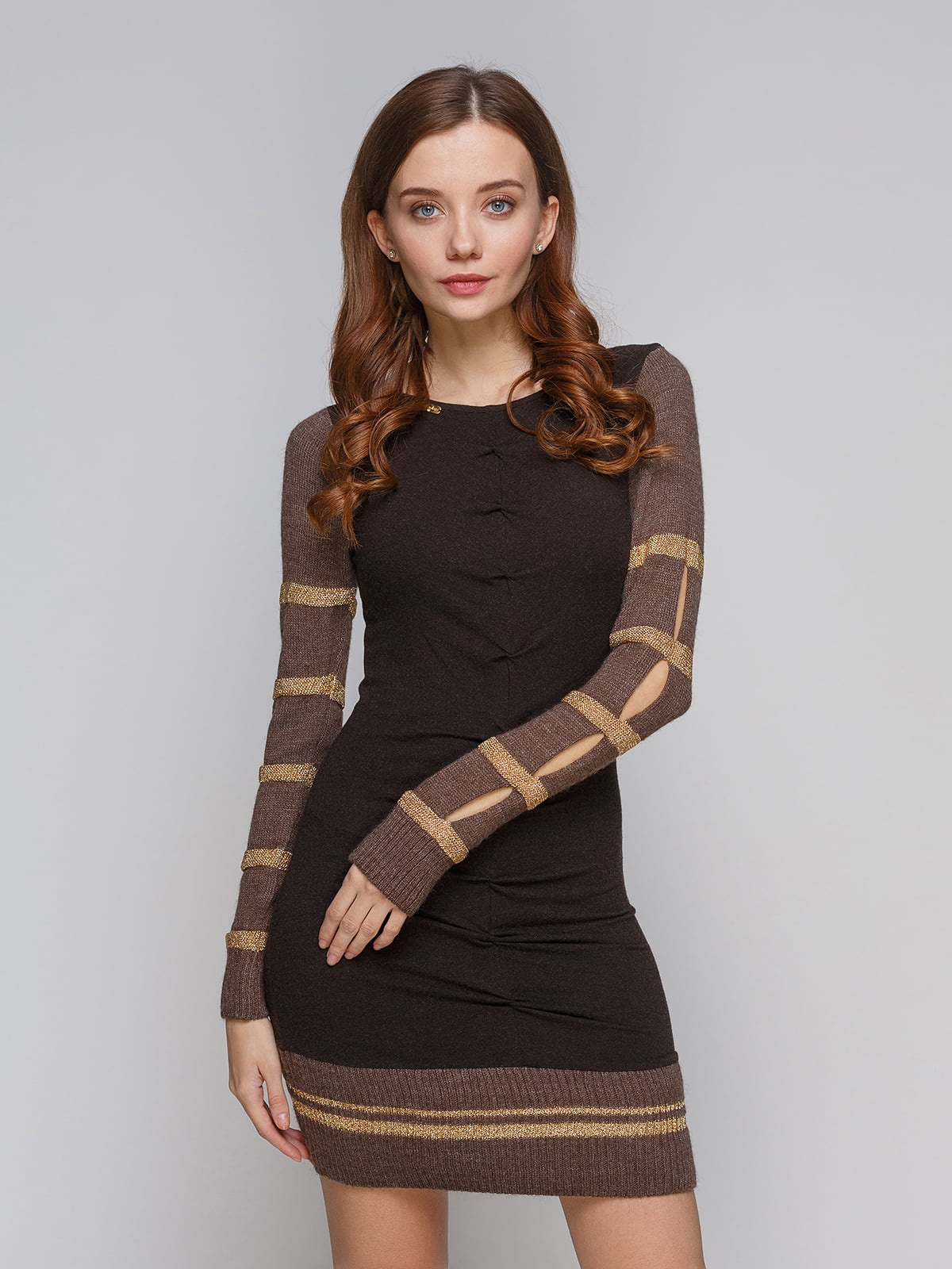 Платье коричневое | 5266116