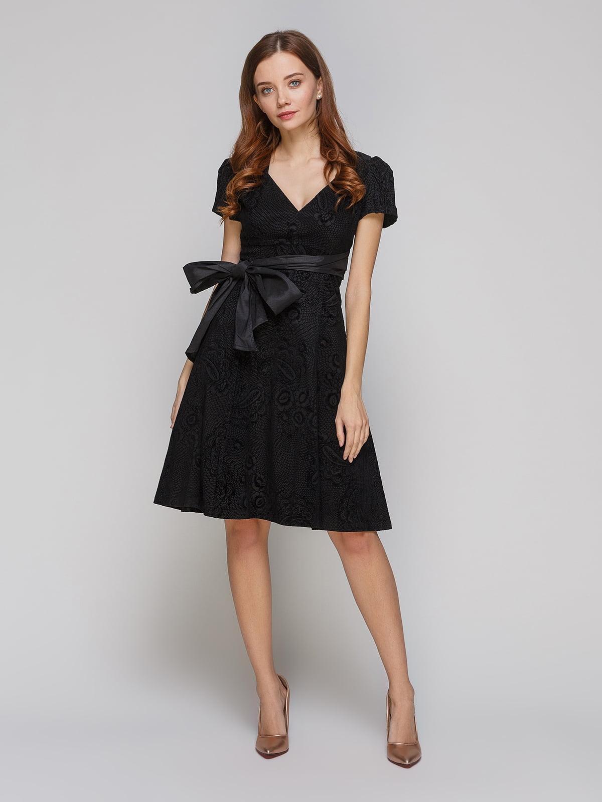 Платье черное | 5266122