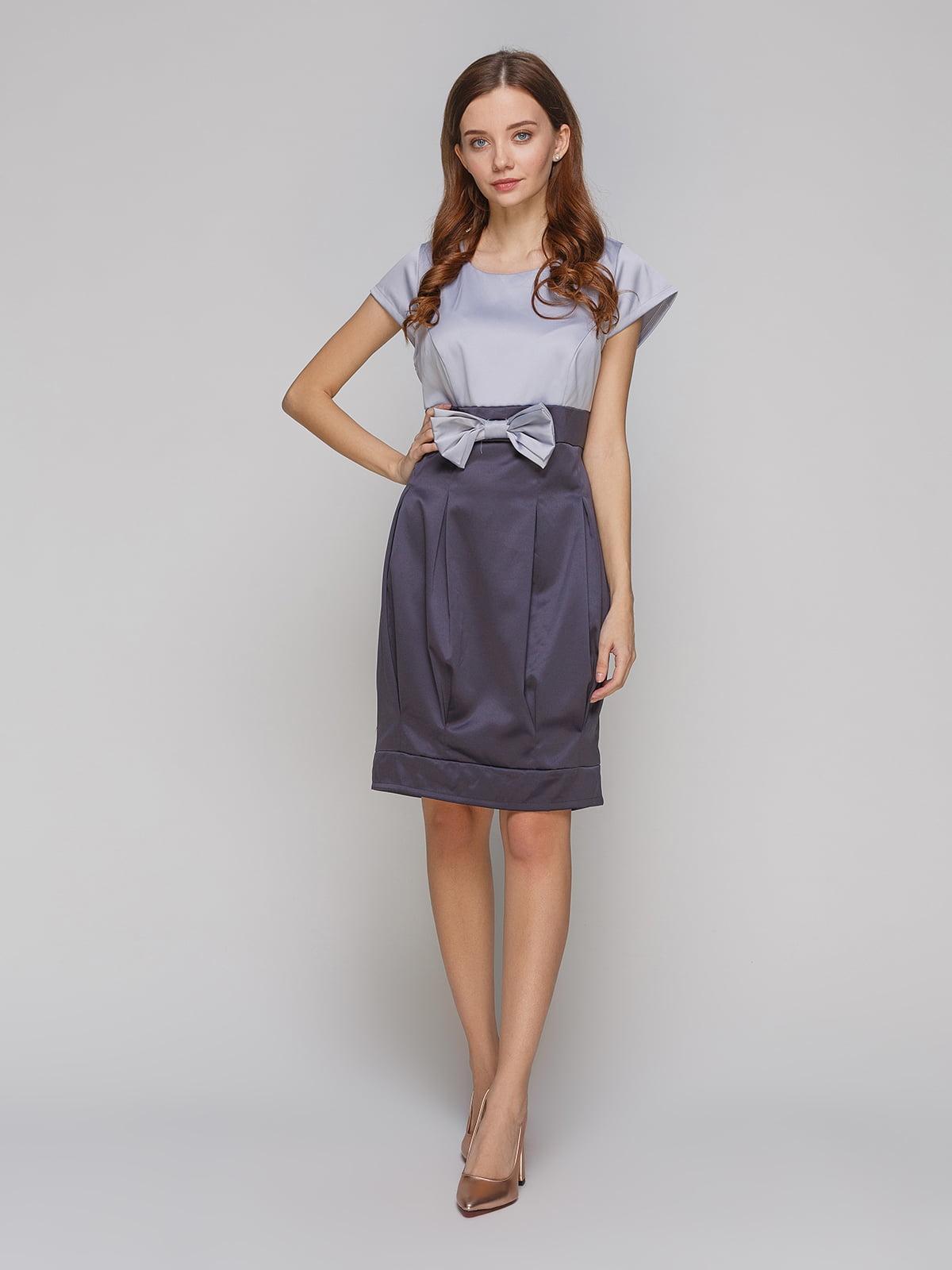 Платье серое | 5266124