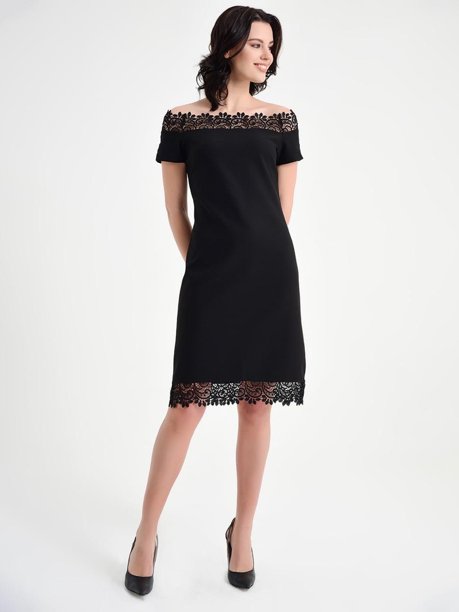 Платье черное | 5268304