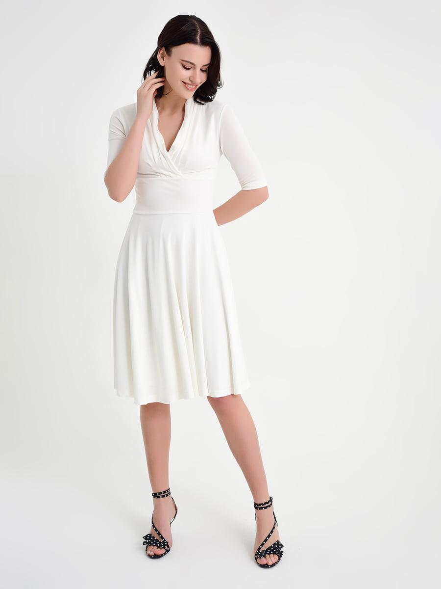 Платье молочного цвета | 5268364