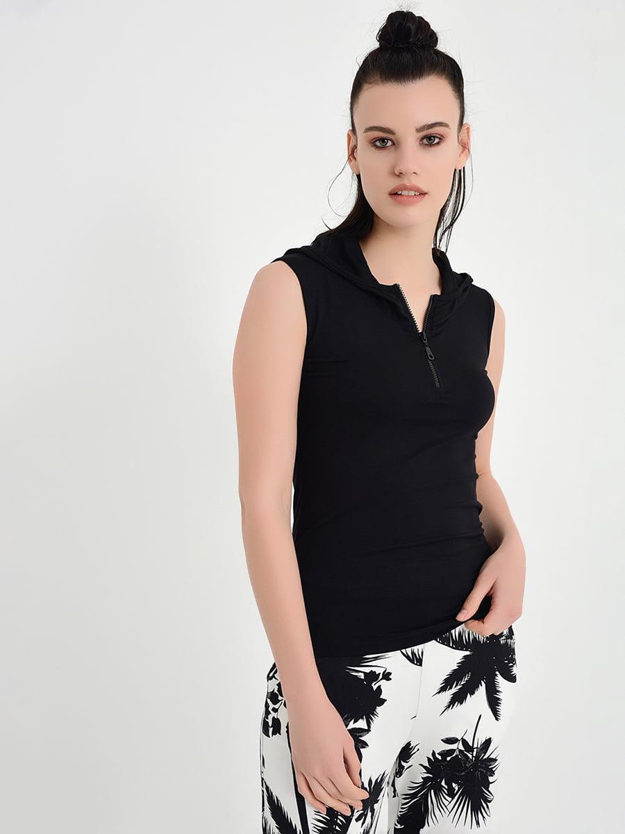 Блуза черная | 5268376