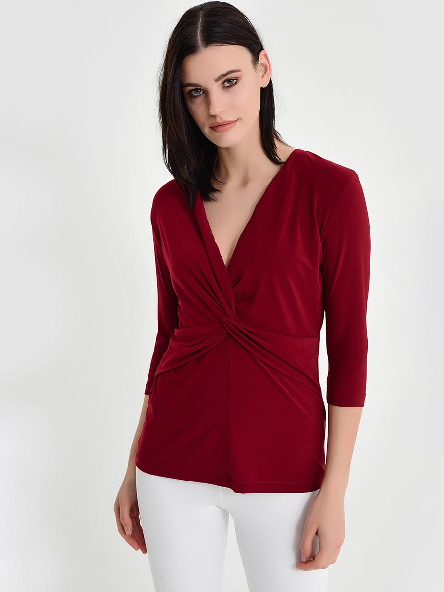 Блуза бордовая   5268402