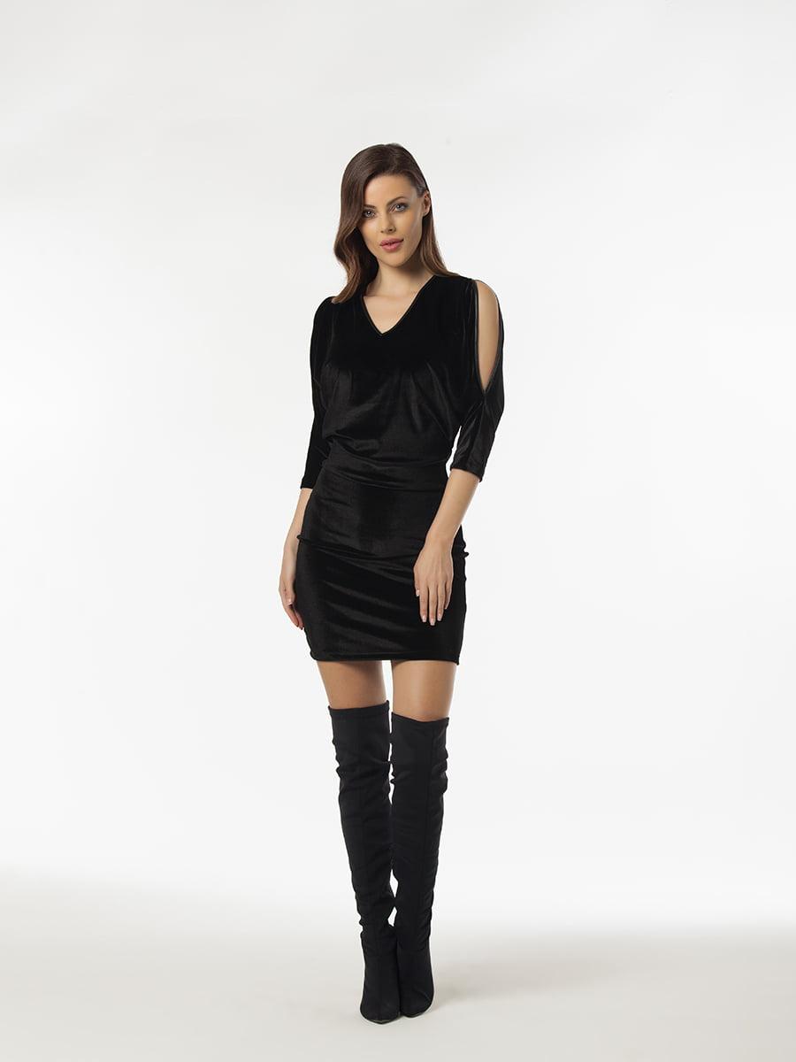 Платье черное | 5268450