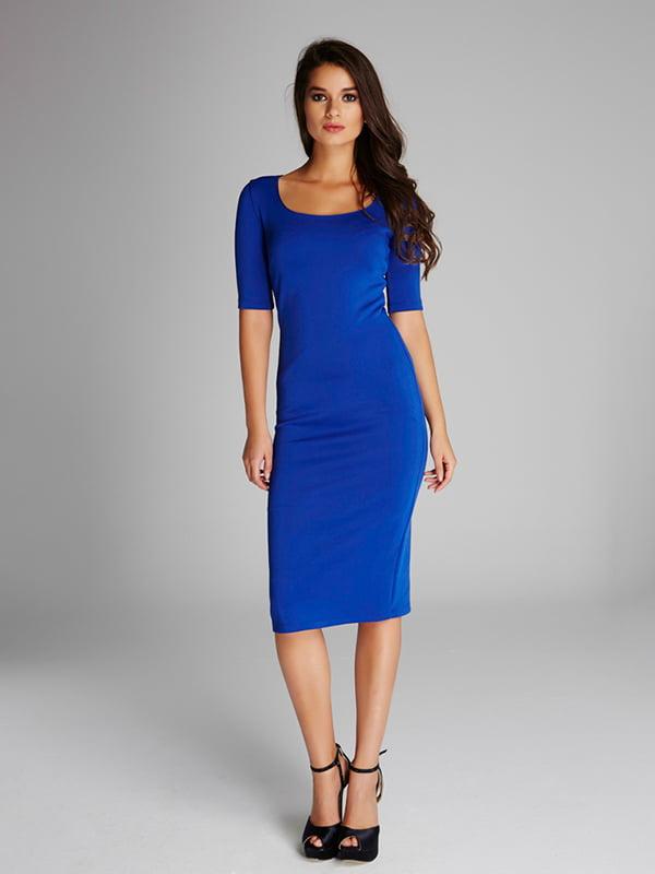 Платье синее | 5268460