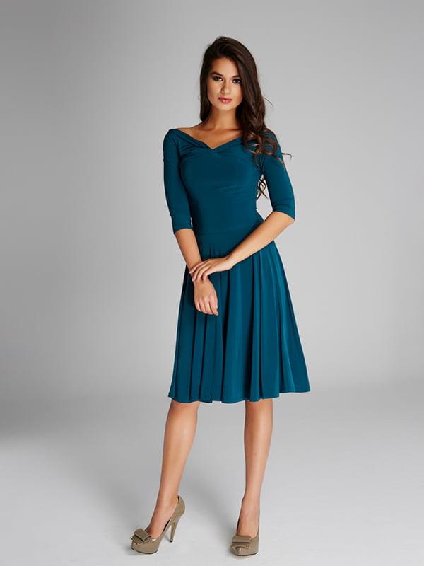 Платье бирюзовое | 5268479
