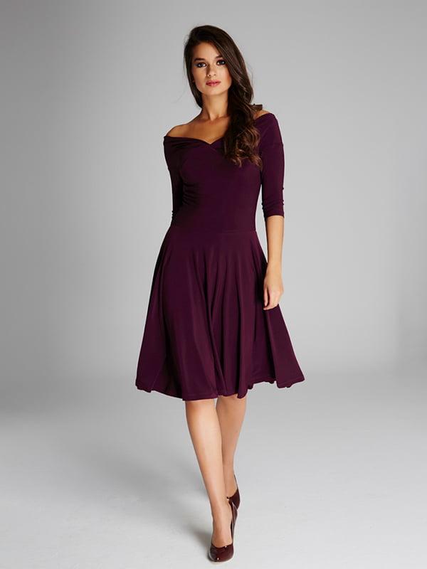 Платье темно-фиолетовое | 5268490