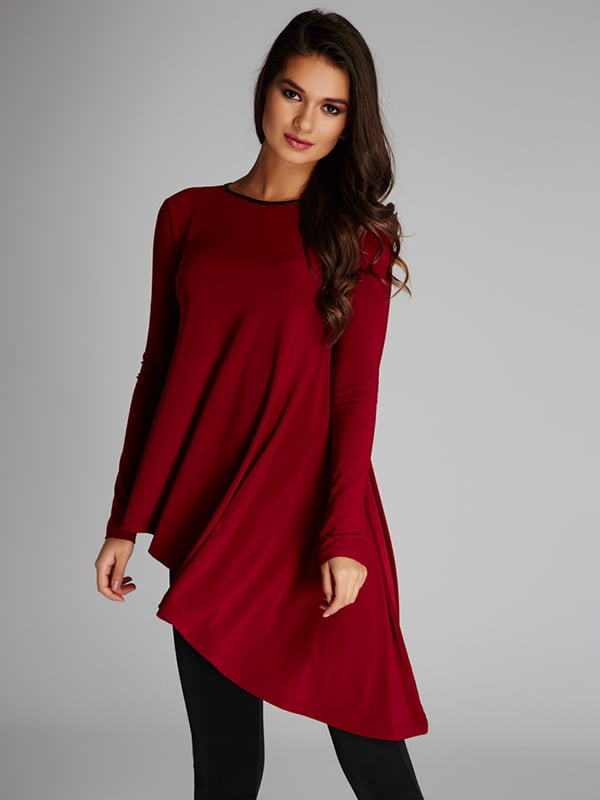 Блуза бордовая | 5268532
