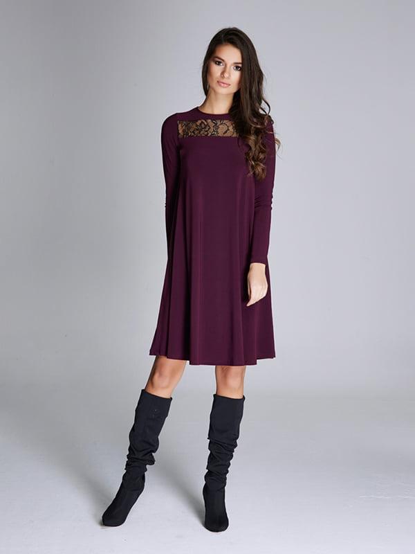 Платье темно-фиолетовое | 5268543