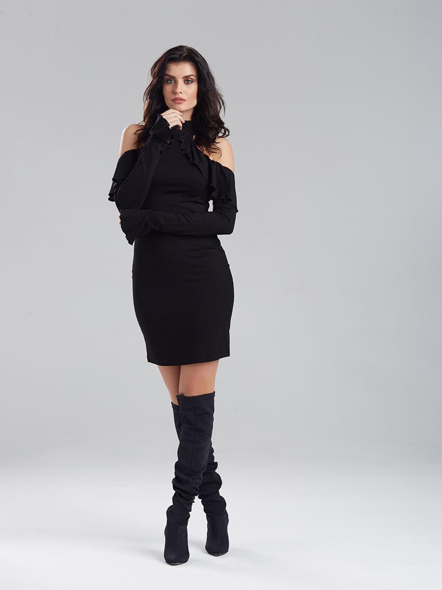 Платье черное | 5268545