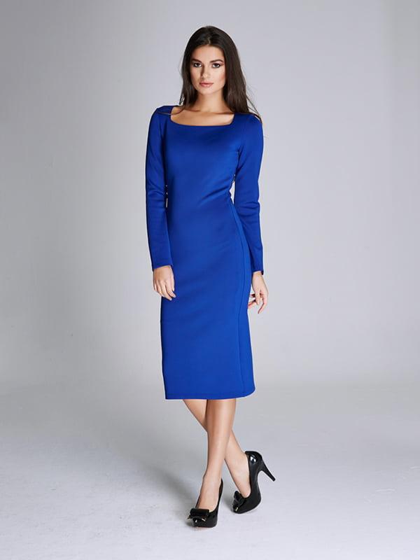 Платье синее | 5268550