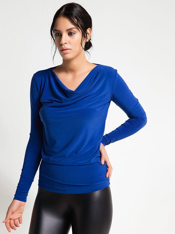 Блуза синяя | 5268553