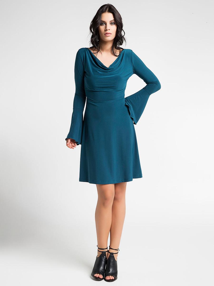 Платье зеленое | 5268570