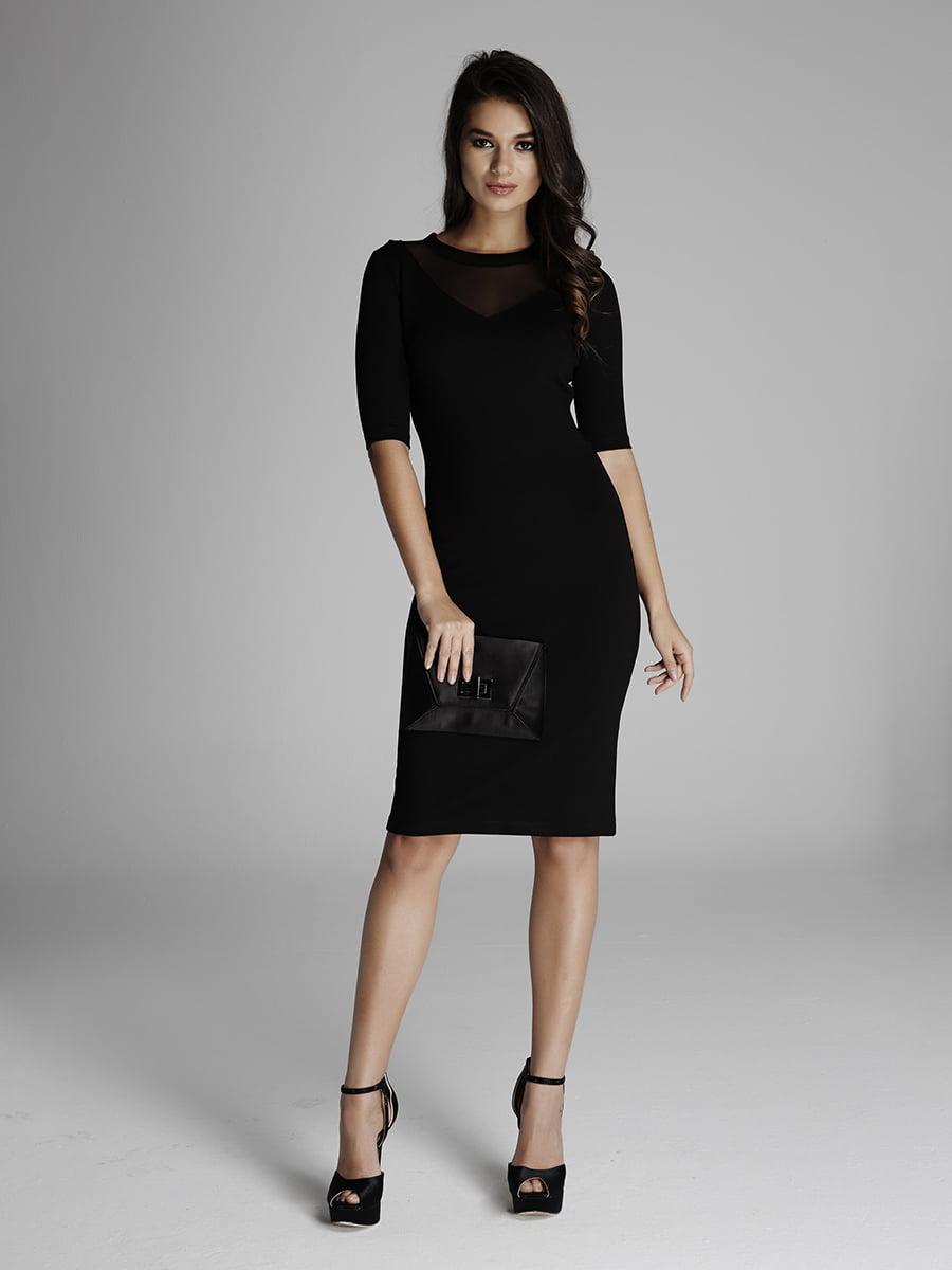Платье черное | 5268576