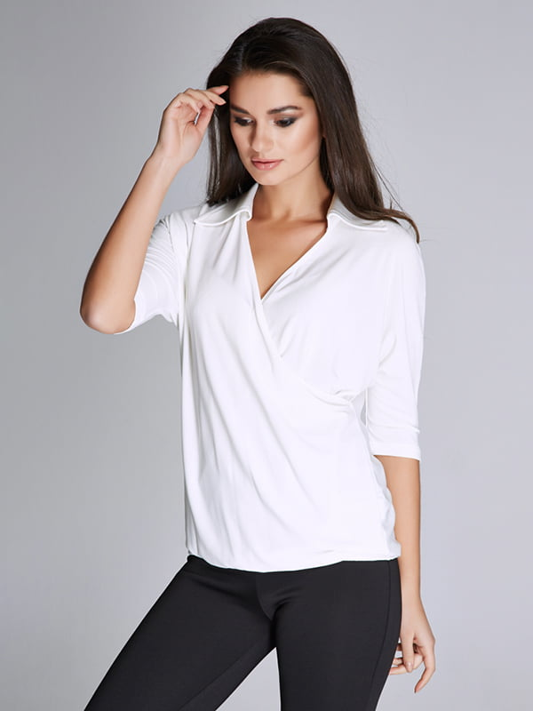 Блуза белая | 5268590