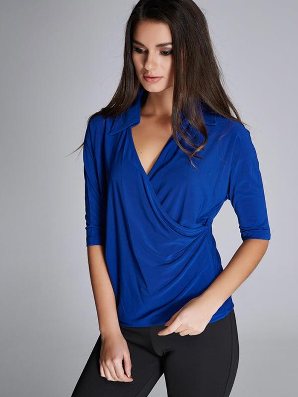 Блуза синяя | 5268591