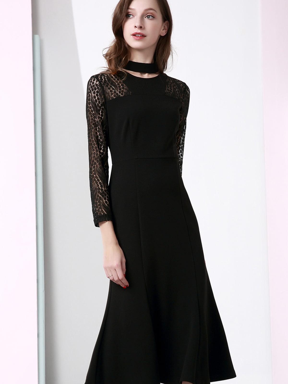 Платье черное | 5268637