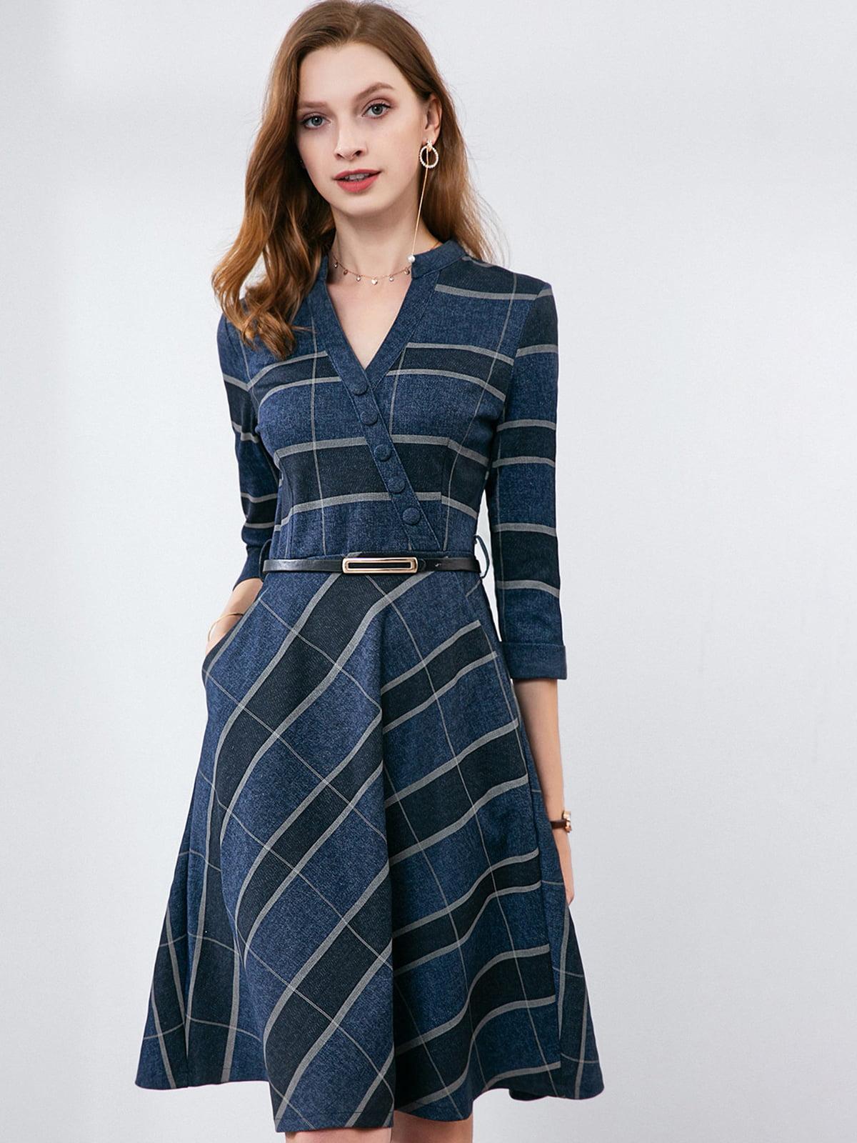 Платье синее | 5268670