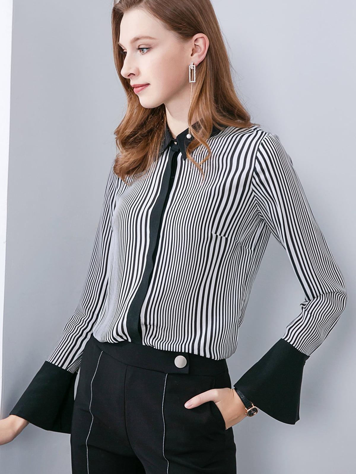 Рубашка черно-белая   5268676