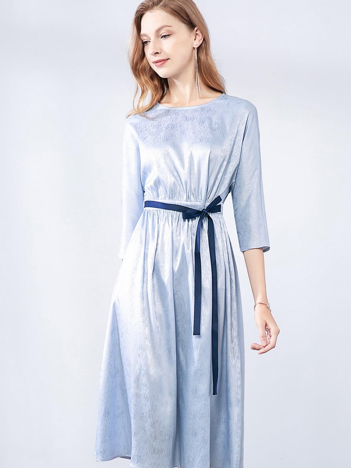 Платье синее   5268722