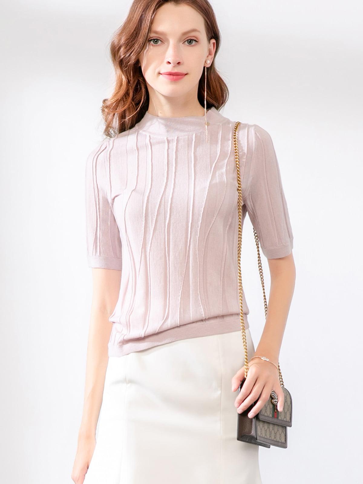 Блуза розовая   5268723