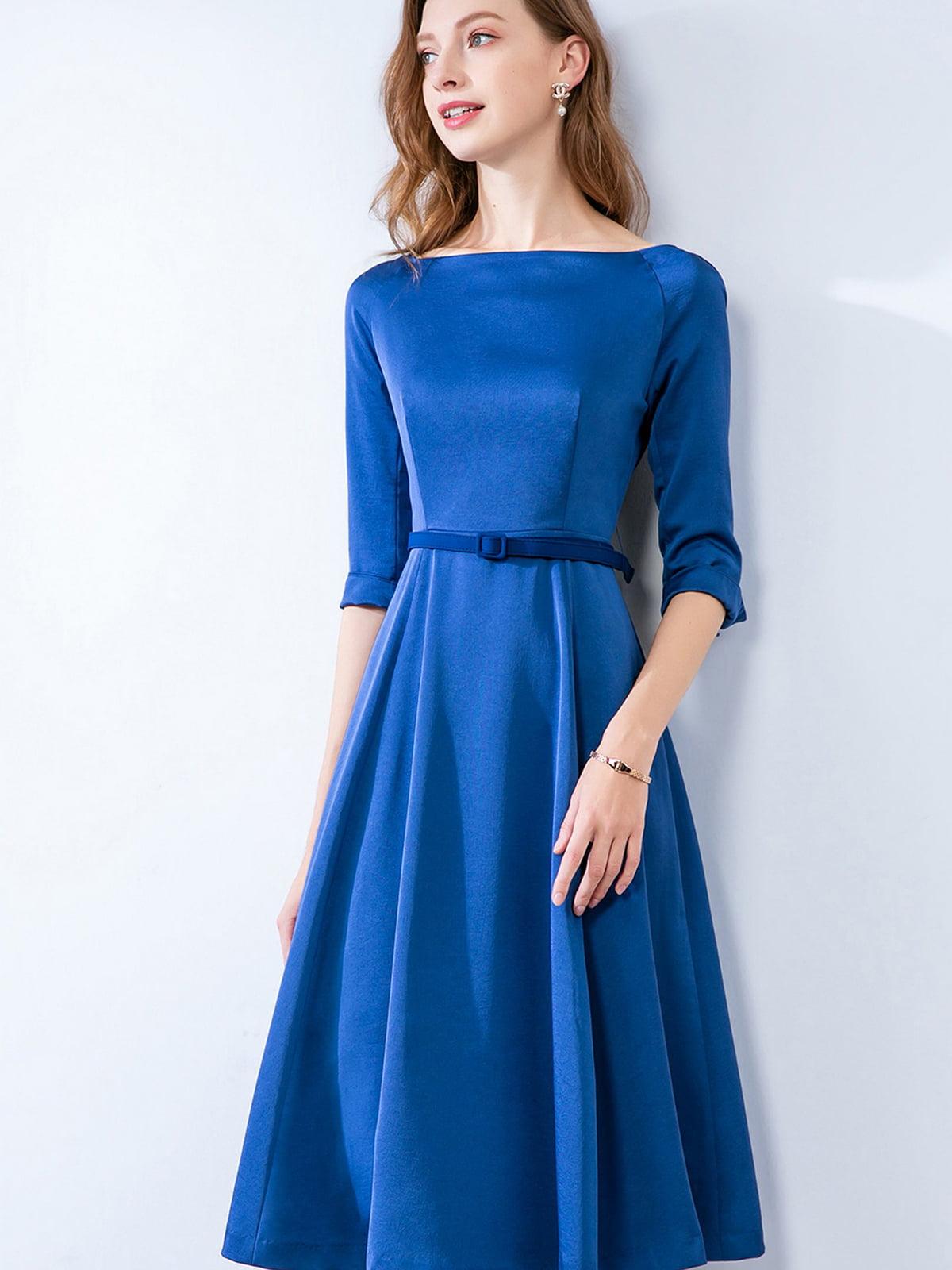 Платье синее | 5268729