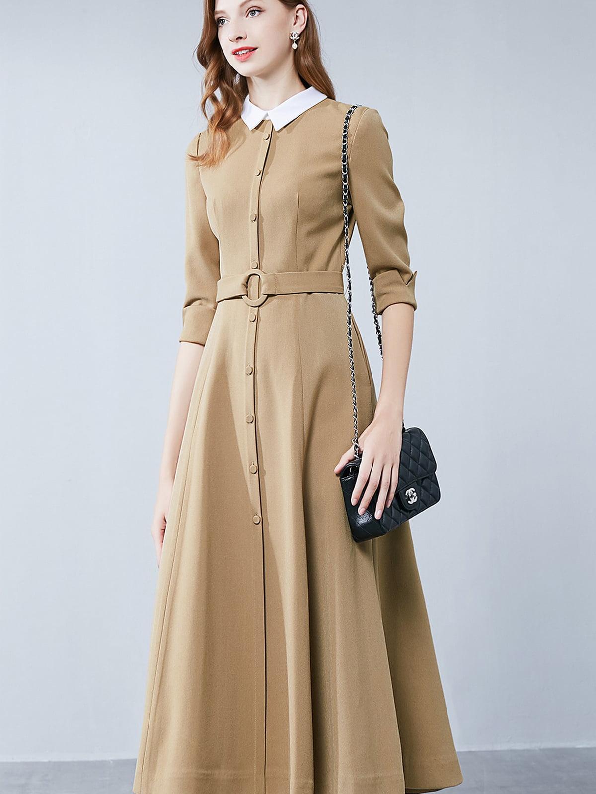 Платье цвета хаки | 5268731