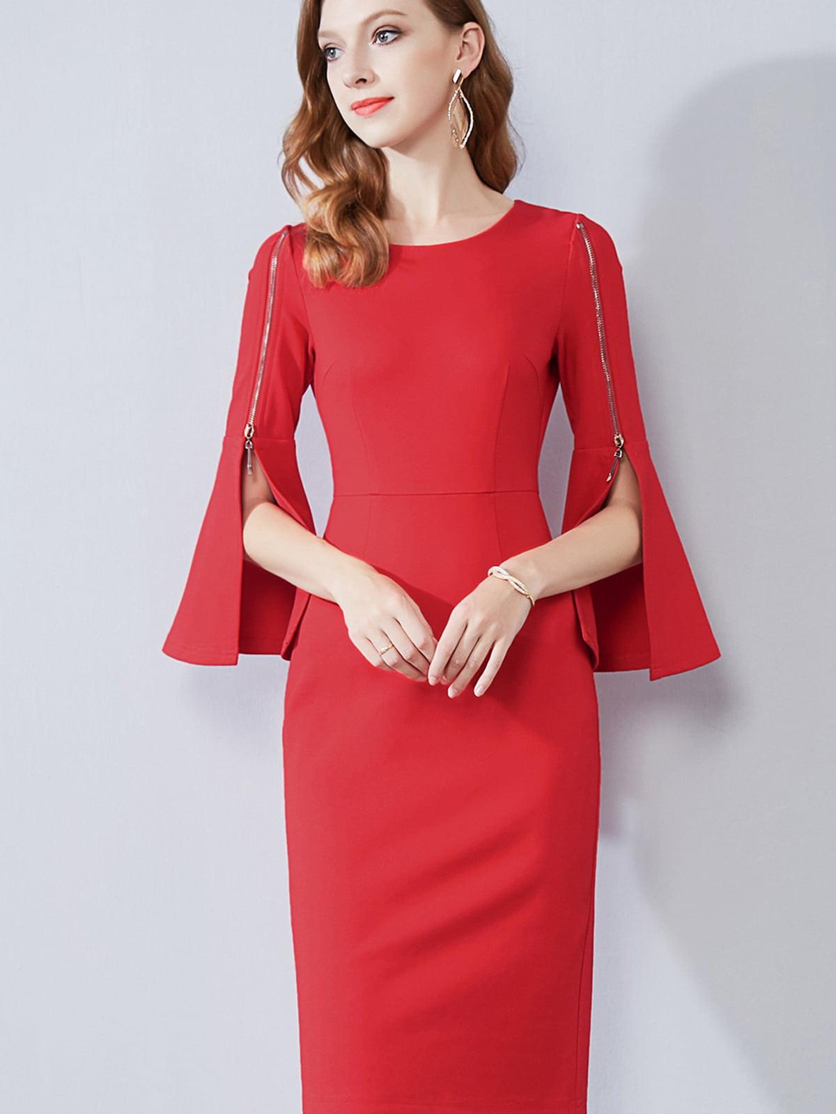 Платье красное | 5268741