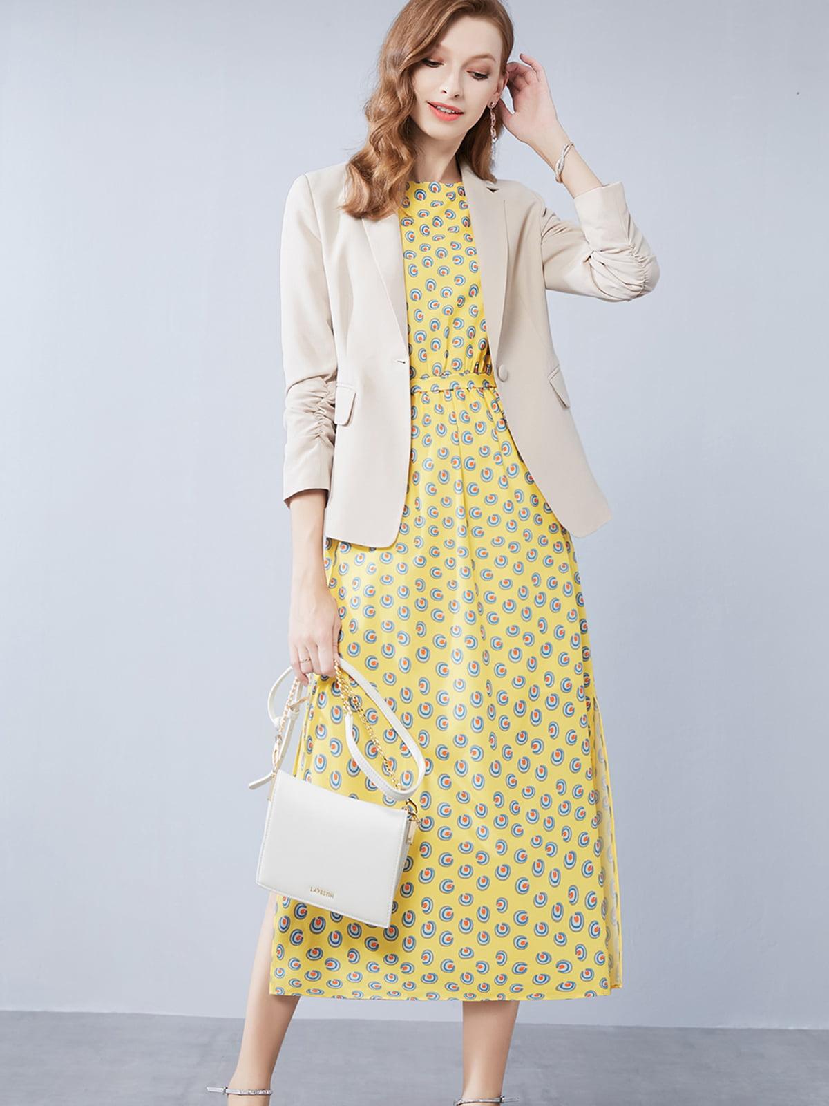 Комплект: жакет и платье | 5268744