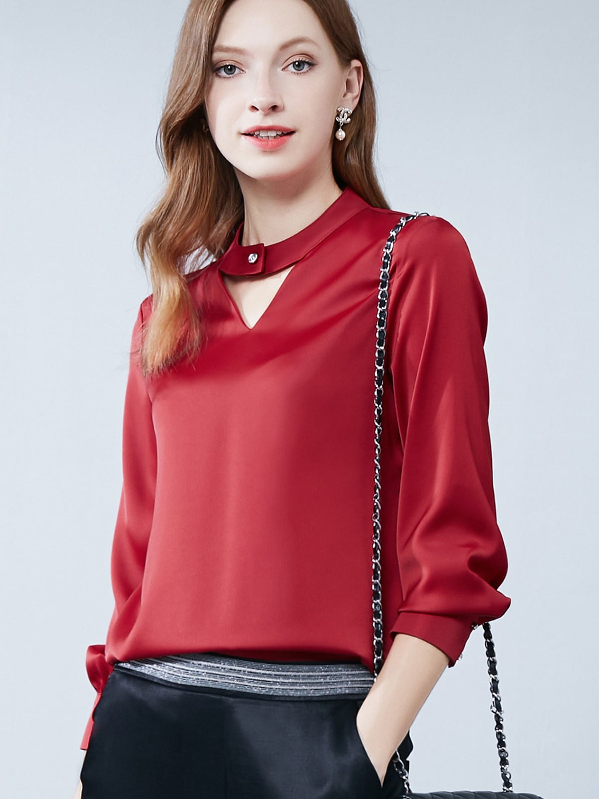 Рубашка красная | 5268750