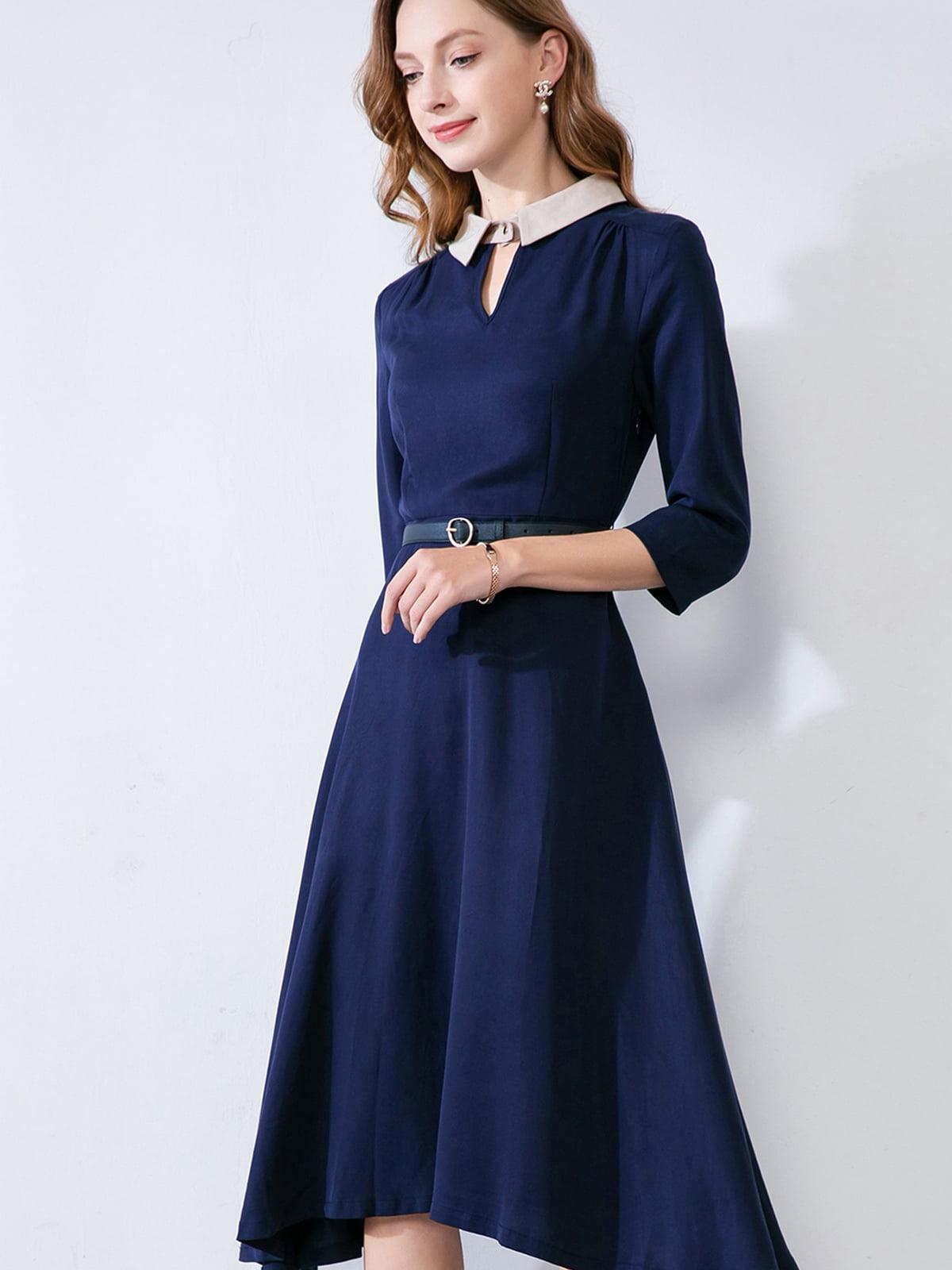Платье синее | 5268760