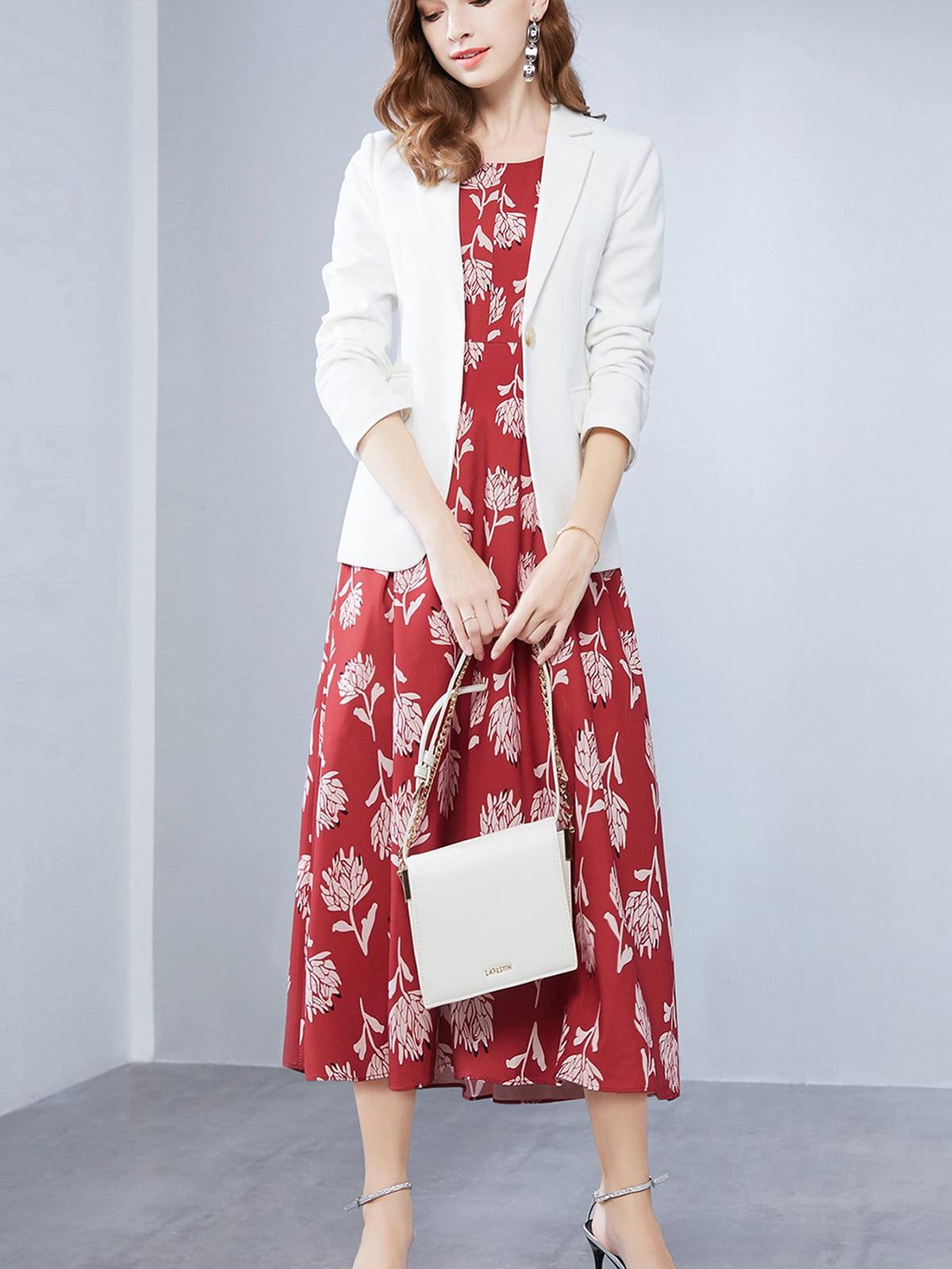 Комплект: жакет и платье | 5268766