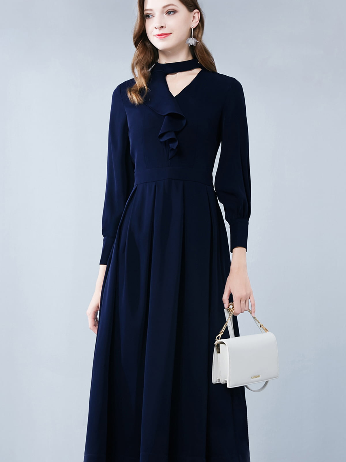 Платье темно-синее | 5268777