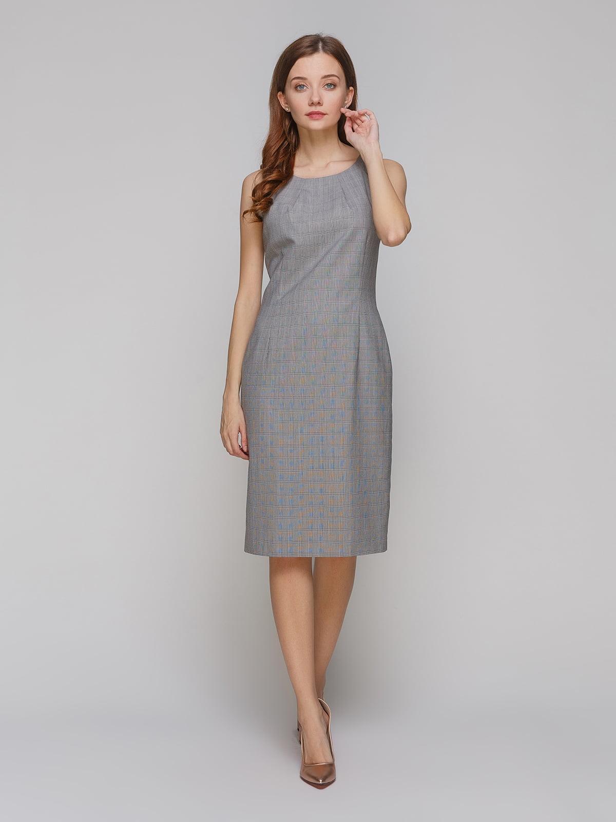 Платье серое   5266138